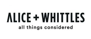 Alice + Whittles hires Westcoast Representation
